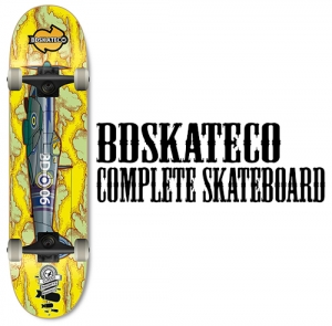 비디스케이트보드BDSKATECO AIRCRAFT YELLOW