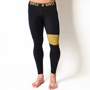 [바나나서프 남성 레깅스]BANANA SURFM BELLS LEGGINGSBLACK/GOLD