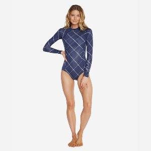[오닐 여성 원피스 수영복]2020 O'NEILLERICA LS SURFSUITNVP NAVY PLAID