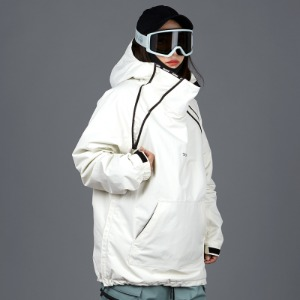 [바운드 스노우보드복 자켓]2021 BOUNDDOUBLE ZIP PULLOVER JACKETBONE