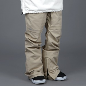 [바운드 스노우보드복 팬츠]2021 BOUNDVAPOR STRETCH PANTSBEIGE (STANDARD FIT)