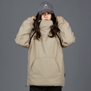 [바운드 스노우보드복 자켓]2021 BOUNDDOUBLE ZIP PULLOVER JACKETBEIGE