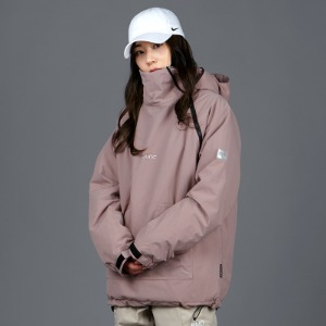 [바운드 스노우보드복 자켓]2021 BOUNDDOUBLE ZIP PULLOVER JACKETLILAC