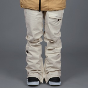 [바운드 스노우보드복 팬츠]2021 BOUNDNEAT STRETCH PANTSCREAM (SLIM FIT)